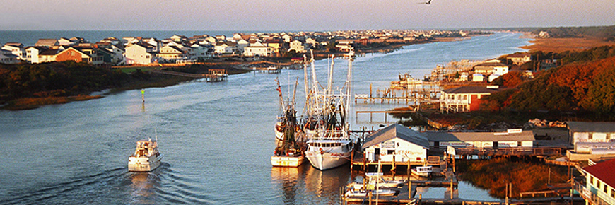 Holden Beach Shrimp Boats