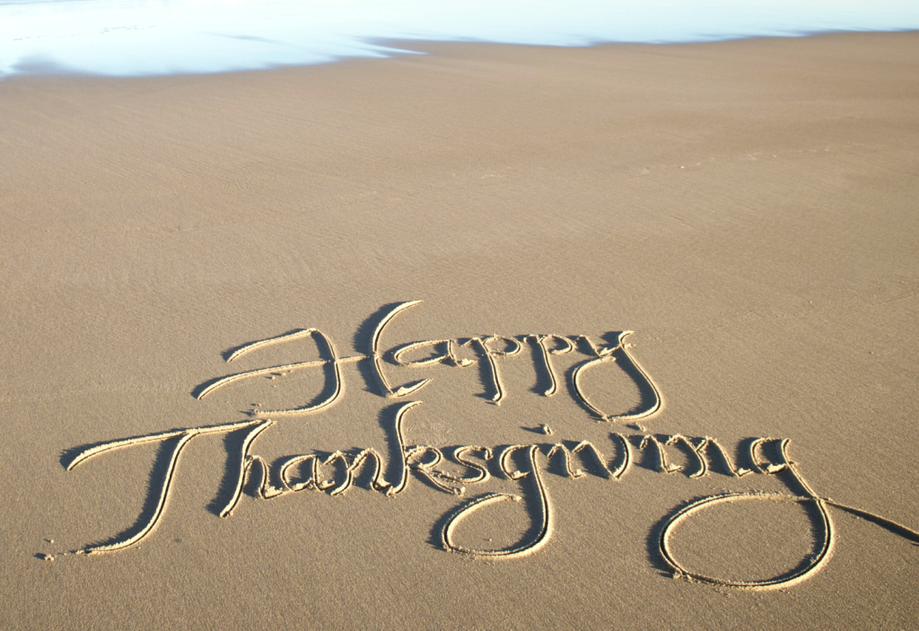 Happy Thanksgiving From Holden Beach