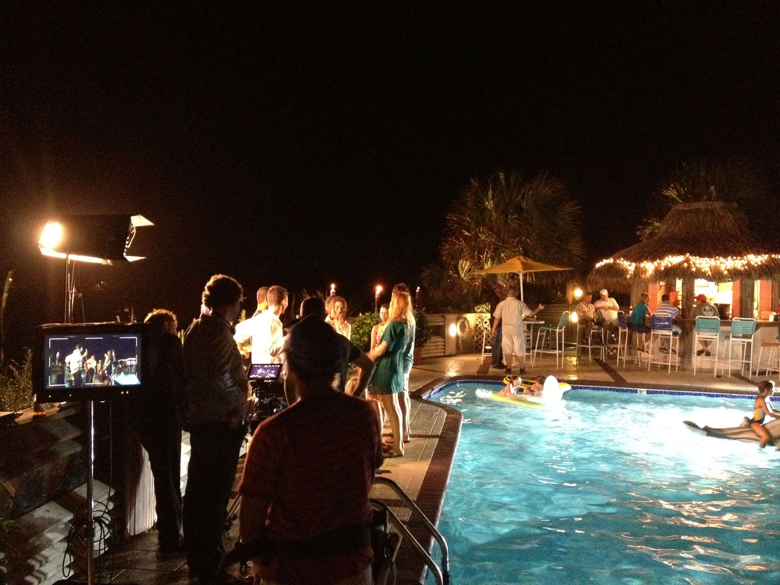 Filming At The Winds Resort