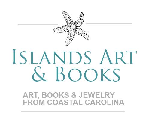 Islands Art and Bookstore Logo