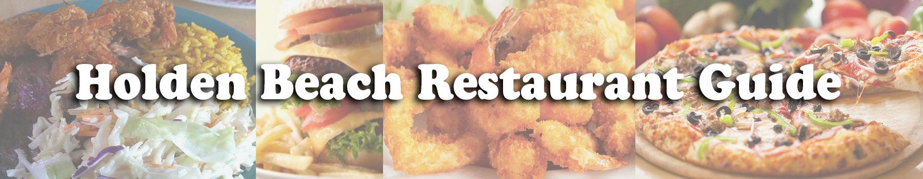 Holden Beach Nc Restaurant Guide