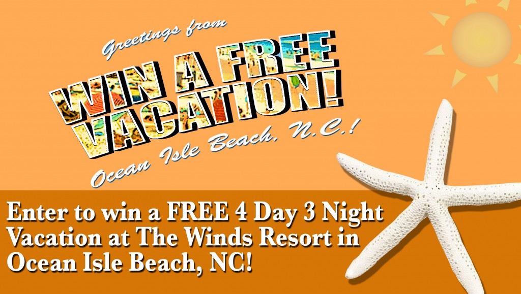 Win a Free Vacation on Ocean Isle Beach NC