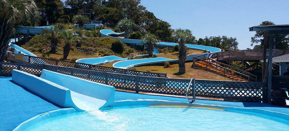 Magic Mountain Water Park Treasure Island Golf