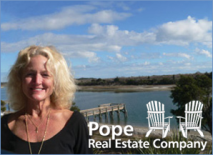 Martha Pope | Owner/Broker at Pope Real Estate Company iHolden Beach, North Carolina.