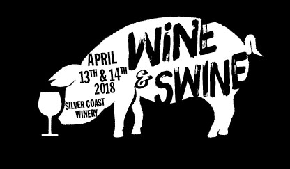 Silver Coast Winery Wine and Swine