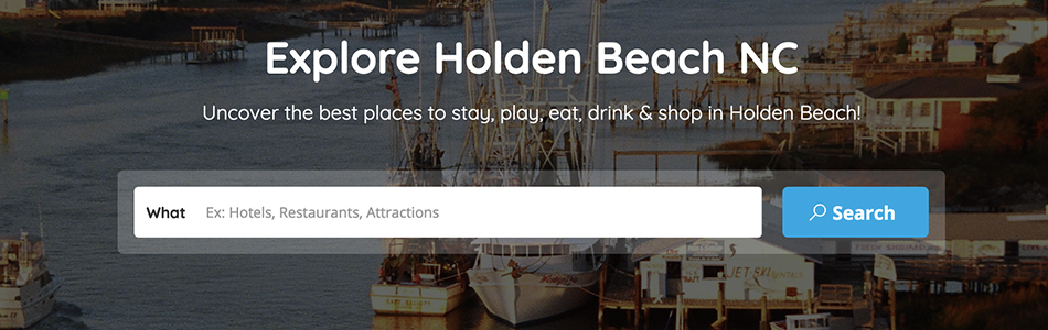 Explore Holden Beach